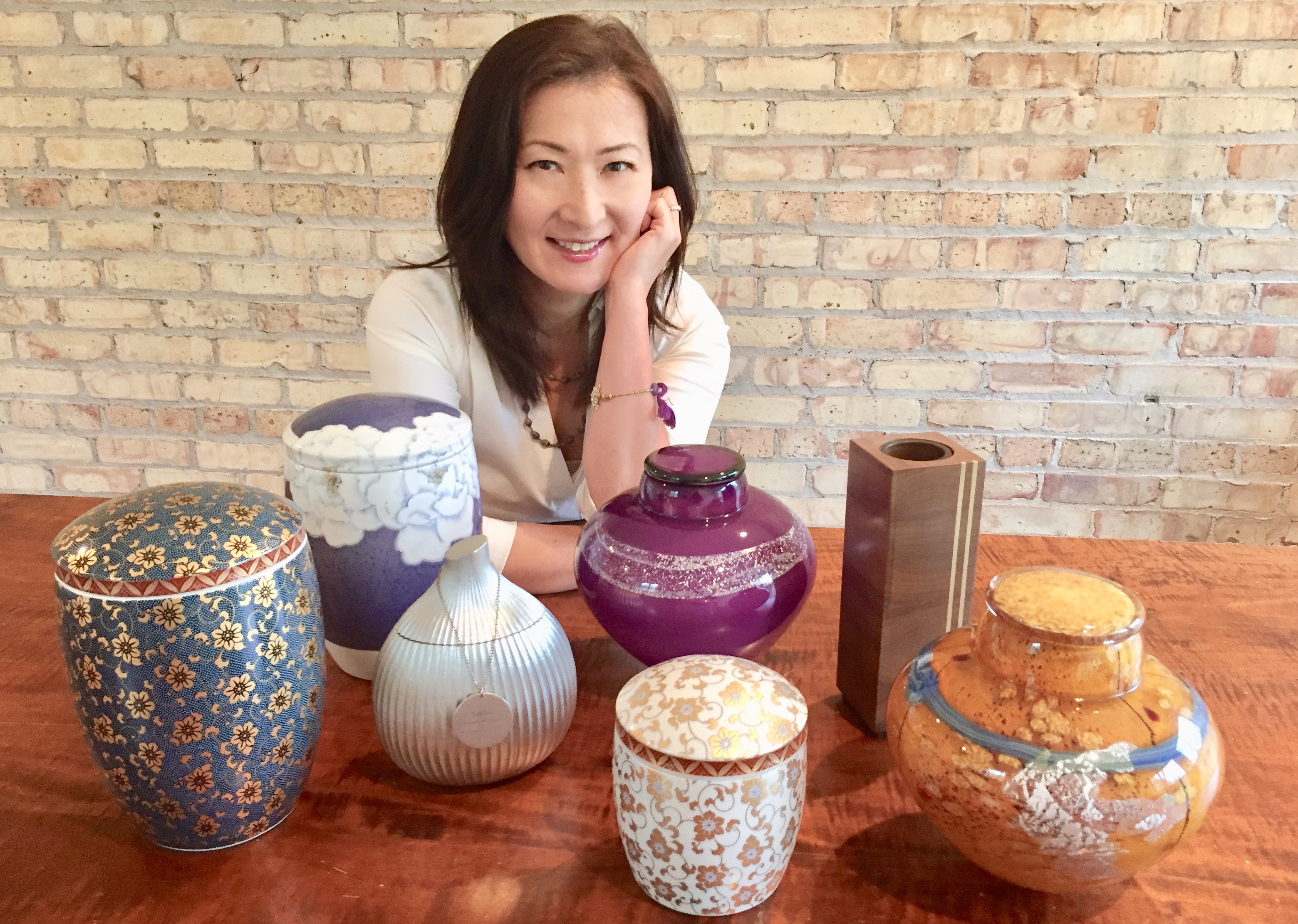 Curated Cremation Urns a Way of Life for Chicago Woman